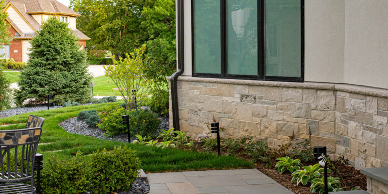 Why All the Neighbors Can't Help but Look at the Landscaping of this Brookfield Home