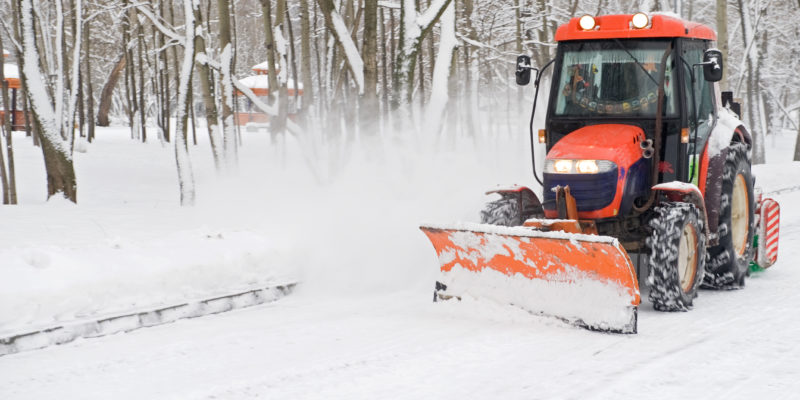 Let a Snow Removal Company Keep You Safe this Winter