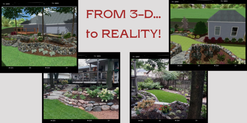 3-D Modeling Helps Clients Visualize Their Landscaping Projects